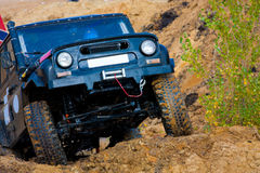 Off roading thrill royalty free stock image