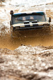 Off roading thrill. 4x4 Off roading thrill in the mud Royalty Free Stock Photography