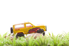 Off Roading Toy Car Royalty Free Stock Photos