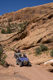 Off-Roading in Utah Royalty Free Stock Photography