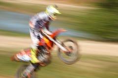 Off-rod motorbike riding fun Stock Photo
