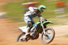 Off-rod motorbike riding fun Royalty Free Stock Photos