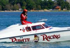 Off-Shore Boat Pilot royalty free stock photos