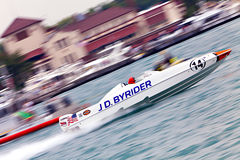 Off-Shore Boat Racing Stock Images