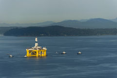Off Shore Oil Rig. Stock Photography