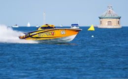 Off-Shore Racing Boat Stock Photos