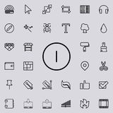 off sign outline icon. Detailed set of minimalistic line icons. Premium graphic design. One of the collection icons for websites, vector illustration
