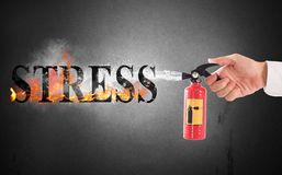 Off stress Royalty Free Stock Photos