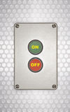 On Off Switch.  stock images