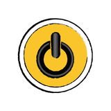 On off switch power Stock Images
