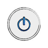 On off switch power Royalty Free Stock Image