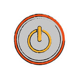 On off switch power Royalty Free Stock Images