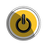 On off switch power. Icon  illustration graphic design Royalty Free Stock Images