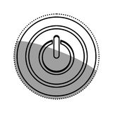 On off switch power. Icon  illustration graphic design Stock Image