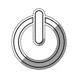 On off switch power. Icon  illustration graphic design Royalty Free Stock Image