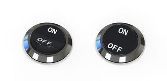 On Off switches Royalty Free Stock Image