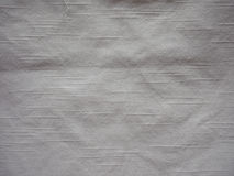 Off white cotton fabric texture background Royalty Free Stock Photo