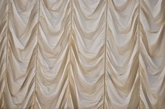 off white curtain fabric texture background Stock Photos