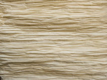 Off white rippled paper background Royalty Free Stock Photography