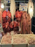 Offal, Athens Meat Markets Royalty Free Stock Photography