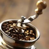 Сoffee. A drink made from the roasted and ground beanlike seeds of a tropical shrub, served hot or iced Stock Images