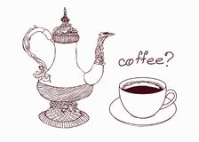 Сoffee pot Royalty Free Stock Photos