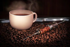 Сoffeemania Stock Photo