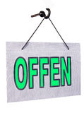 Offen sign Royalty Free Stock Photography