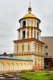 Offenbarungs-Kathedrale in Irkutsk Russland Lizenzfreies Stockfoto