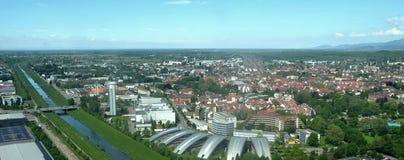Offenburg aerial Royalty Free Stock Photos