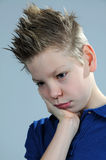 Offended boy Royalty Free Stock Photography