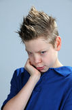 Offended boy Stock Photography