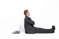 Offended Businessman Stock Photography