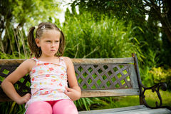 Offended child Royalty Free Stock Photo