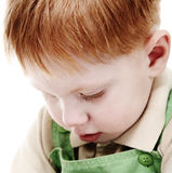 Offended kid Royalty Free Stock Photos