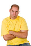Offended man Royalty Free Stock Photo