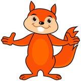 Offene Arme eines Eichhörnchens Lizenzfreie Stockbilder