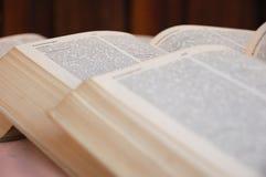 Offene Bücher Stockbild