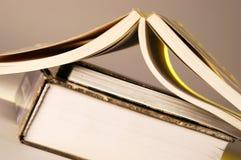 Offene Bücher lizenzfreie stockfotografie