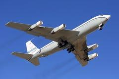 Offene Himmel Boeing OC-135B, das am Kubinka-Luftwaffenstützpunkt sich entfernt Stockfoto