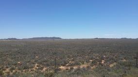 Offene Himmel im Karoo Lizenzfreies Stockbild