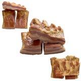 Offene Sandwiche Lizenzfreies Stockfoto