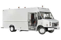 Offene Tür Vans car Lizenzfreie Stockfotos