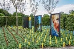 Offene Türen zur Welt von Vincent Van Gogh Lizenzfreie Stockfotografie