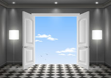 Offene Tür im Himmel Lizenzfreie Stockbilder
