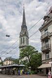 Offener St Jakob Church Zurich Switzerland Stock Image