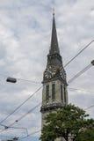 Offener St Jakob Church Zurich Switzerland Royalty Free Stock Photos