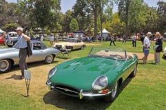 Offener Tourenwagen Jaguars XKE Lizenzfreies Stockfoto