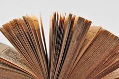 Offenes Buch Stockbild
