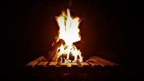 Offenes Feuer Stockbilder
